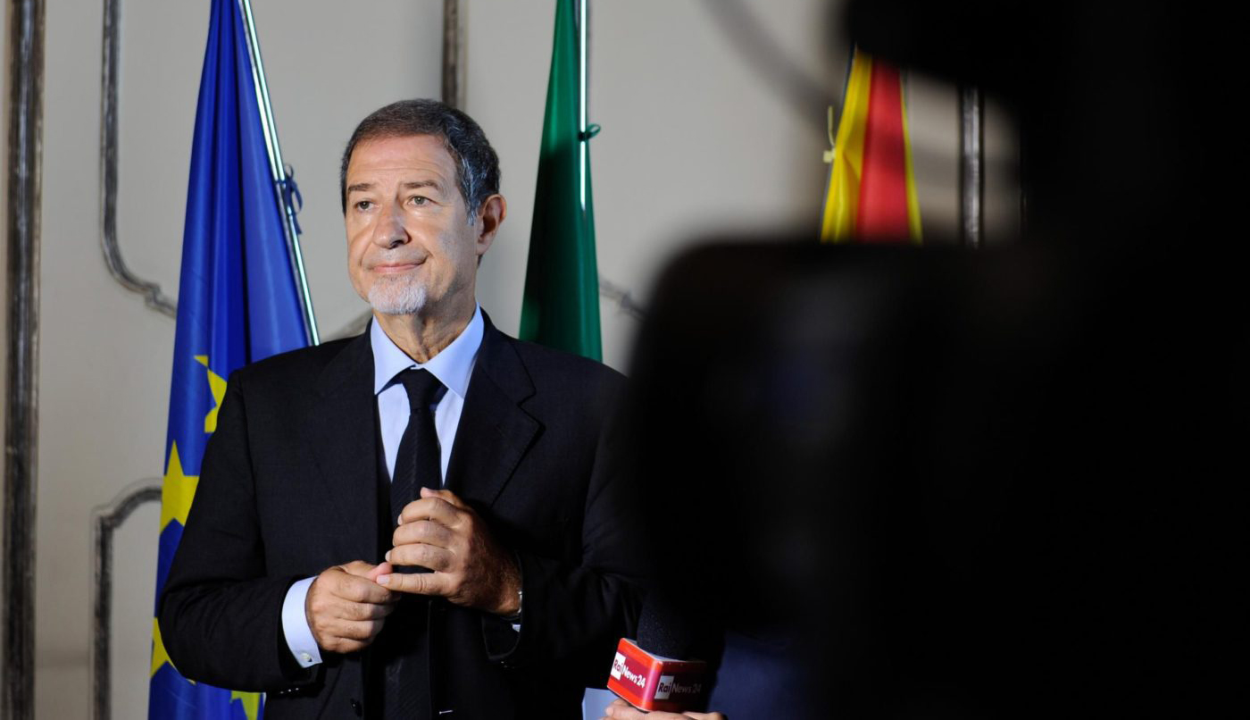 """Nello Musumeci, candidato presidente per """"Diventerà Bellissima"""" sostenuto da FDI e Noi con Salvini"""