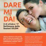 Dal 2 all'8 ottobre la settimana delle sezioni UILDM