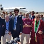 Il Dalai Lama atterra a Catania