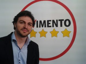 Patrizio Cinque, sindaco di Bagheria (M5S)