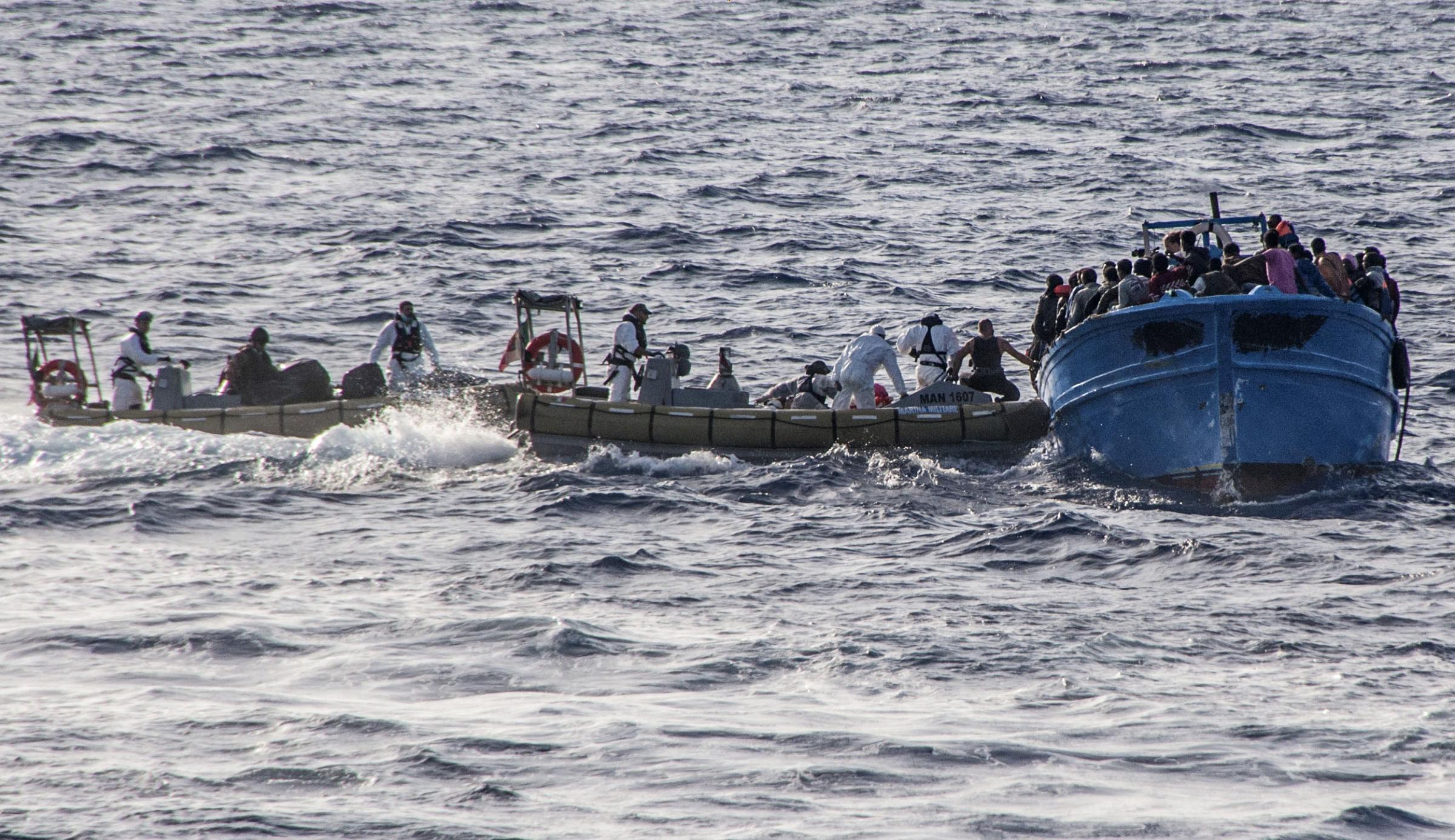 Nuovo sbarco di immigrati a Lampedusa