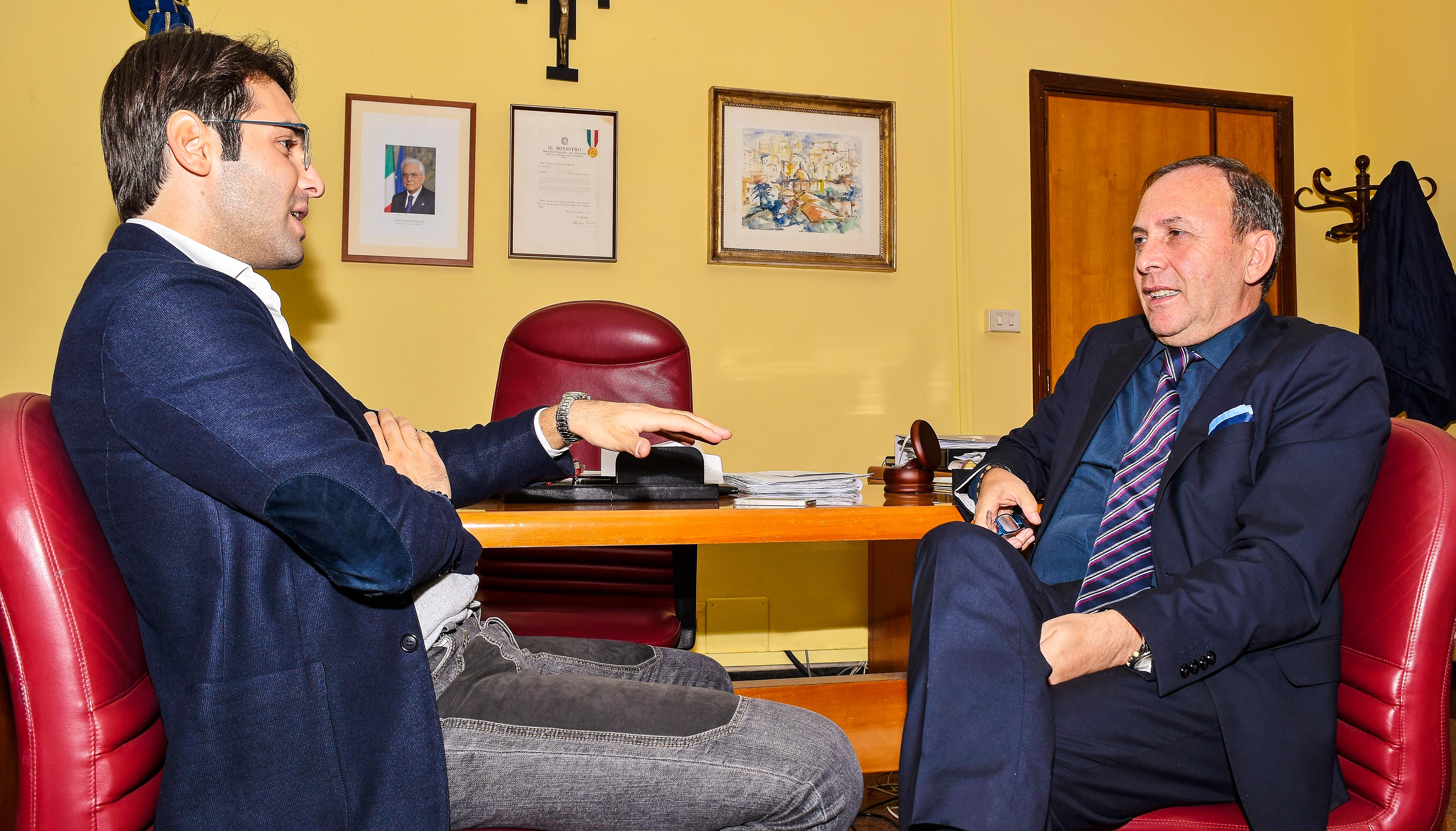 Il direttore di Freedom24 intervista il sindaco di Paternò Nino Naso.