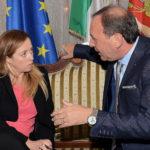 Paternò. Giorgia Meloni in visita istituzionale dal sindaco Nino Naso