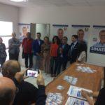 Paternò, inaugurata sede elettorale di Antonello Sinatra con Salvo Pogliese
