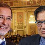 Palermo, Musumeci e Crocetta all'Ars: uno entra (ancora deputato) e l'altro esce