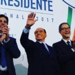 Berlusconi a Catania tira la volata a Nello Musumeci