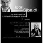 """Catania. Sibaldi ospite alle Belle Arti su """"La Speciazione. Il coraggio di scoprirsi diversi"""""""