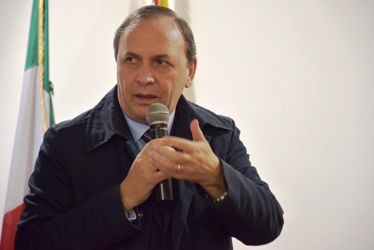Nino Naso, sindaco di Paternò (Foto: F. Magrì)
