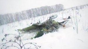 aereo precipitato russia