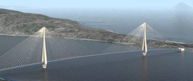 Simulazione del Ponte sullo Stretto di Messina