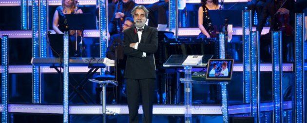 Il maestro d'orchestra Beppe Vessicchio, quest'anno di nuovo all'Ariston.