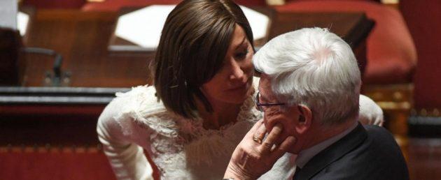 Anna Maria Bernini e Paolo Romani (Forza Italia)