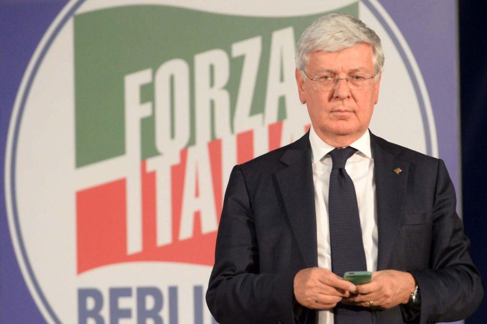 Paolo Romani, capogruppo di Forza Italia al Senato.