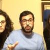 I consiglieri Martina Ardizzone, Marco Gresta e Claudia Flammia