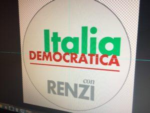 La prima bozza del simbolo del nuovo movimento politico che starebbe preparando Matteo Renzi dopo le dimissioni forzate dal Pd. Nel simbolo sarebbe presente il nome di Renzi.