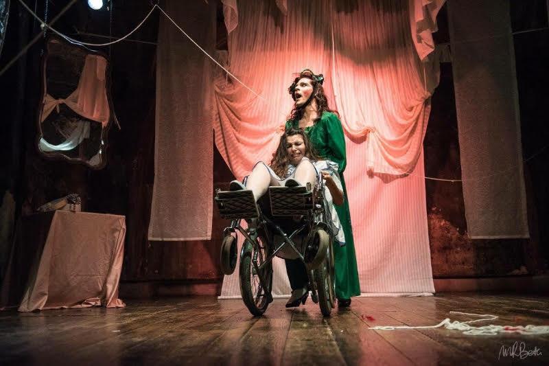 Un'immagine dello spettacolo.