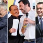 Renzi asfaltato, Salvini leader del Centrodestra. M5S primo partito
