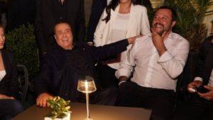 Silvio Berlusconi e Matteo Salvini insieme a Trieste.