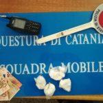 Catania, la Squadra Mobile arresta spacciatore