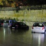 A Palermo un violento nubifragio. Strade allagate e due incidenti