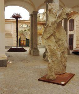 Un'opera esposta al Museo Riso di Palermo