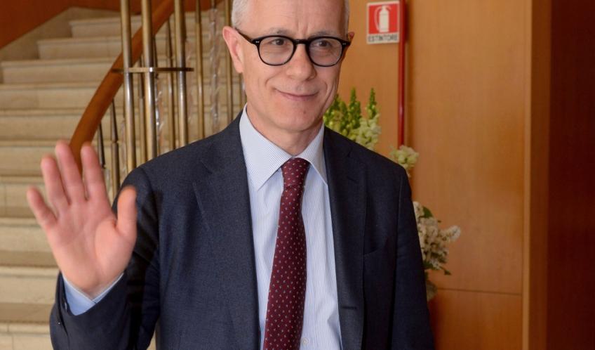 Attilio Fontana, direttore del Corriere della Sera