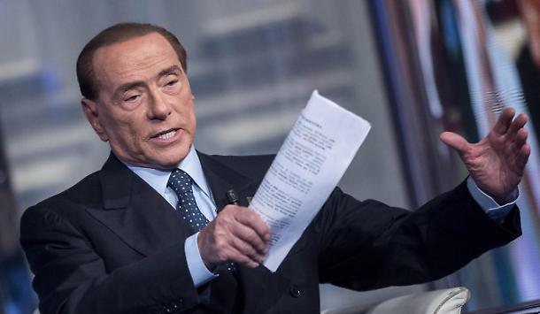 Silvio Berlusconi, presidente di Forza Italia