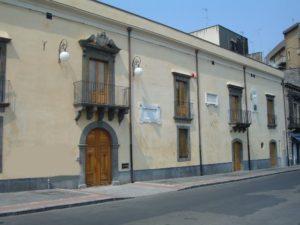 Palazzo Alessi a Paternò, sede del Consiglio Comunale.