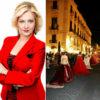 """Liliana Nigro, promotrice dell'evento """"Moda in movimento"""" a Catania."""