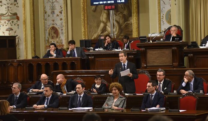 I banchi del Governo Regionale Siciliano all'Ars