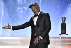 L'attore Morgan Freeman.