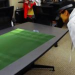 Le partite di calcio diventano ologrammi 3D sul tavolo di casa
