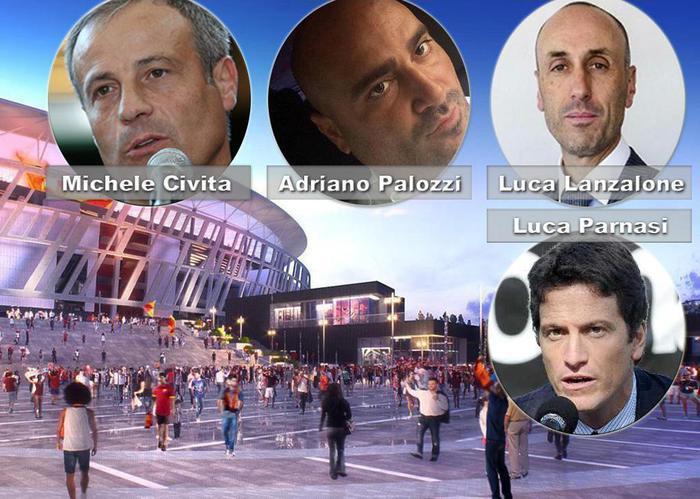 Nuovo stadio della Roma: arresti