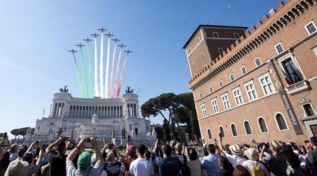 Festa della Repubblica oggi a Roma.