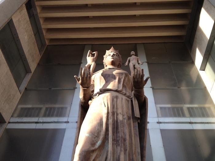 Palazzo di Giustizia di Catania, foto esterno della sede del Tribunale