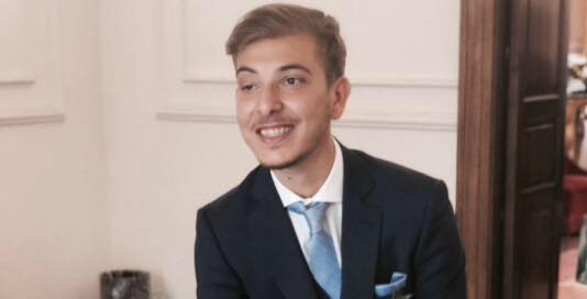 Salvo Scuto, neo coordinatore Forza Italia Giovani a Paternò