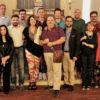 Un'immagine di gruppo al termine dell'incontro di ieri 21 giugno.