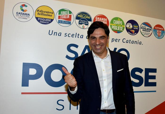 Salvo Pogliese, nuovo sindaco di Catania