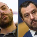Saviano indagato per diffamazione dopo denuncia di Salvini