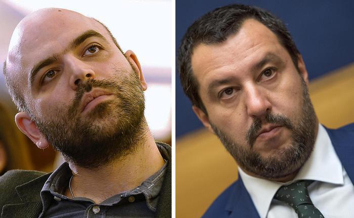 Saviano e Salvini
