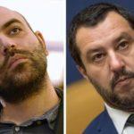 Diffamazione, Saviano indagato dopo denuncia Salvini