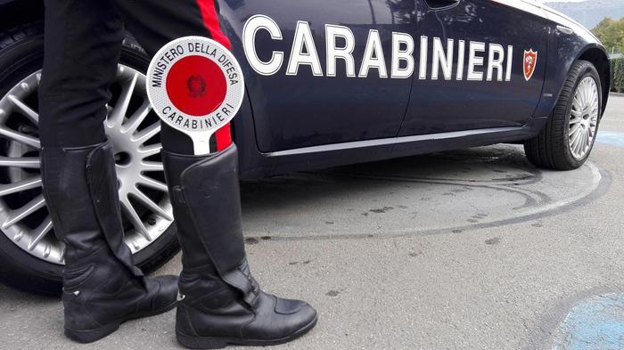 foto diffusa da carabinieri prato