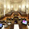 L'Aula dell'Assemblea Regionale Siciliana a Palermo.