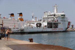 Italian coast guard ship Diciotti