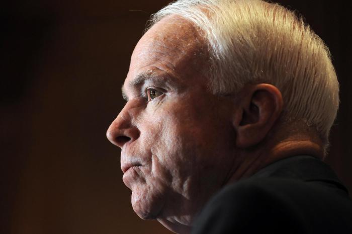 Il senatore repubblicano John McCain