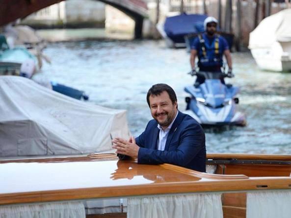Matteo Salvini, vicepremier e ministro dell'Interno