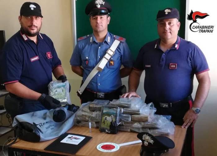 Cocaina trovata a Pantelleria