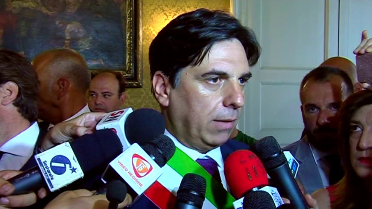 Salvo Pogliese, sindaco di Catania