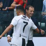 Serie A: Juve Sassuolo 2-1, doppietta Cr7. Empoli Lazio 0-1
