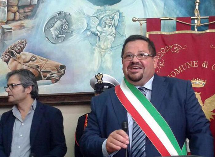 Domenico Messinese, sindaco ex M5S di Gela.